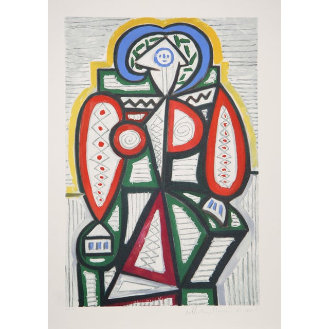 "Pablo Picasso ""Femme Assise"" Lithograph - Image 1 of 2"