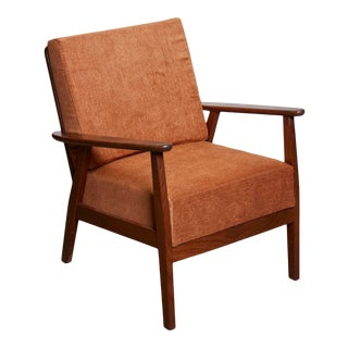 1960s Vintage Lounge Chair in Teak For Sale