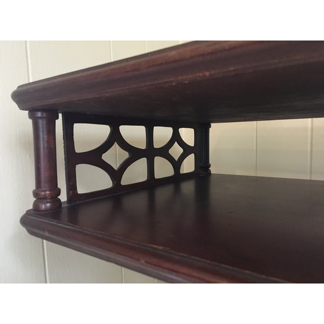 Imperial Federal Style Side Tables - A Pair For Sale - Image 10 of 12