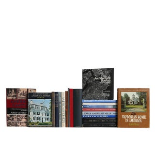 America's Architectural Heritage - Set of Twenty Decorative Books For Sale