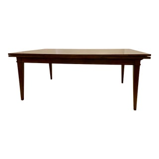 Thomas Gray for Council Furniture Walnut Finished Wood Dining Table For Sale