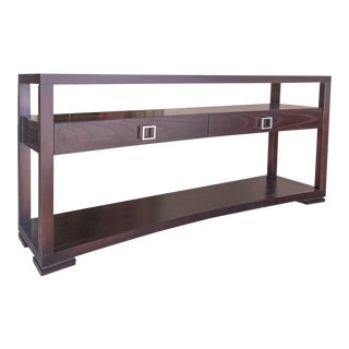 Contemporary Michael Weiss by Vanguard Console Table For Sale