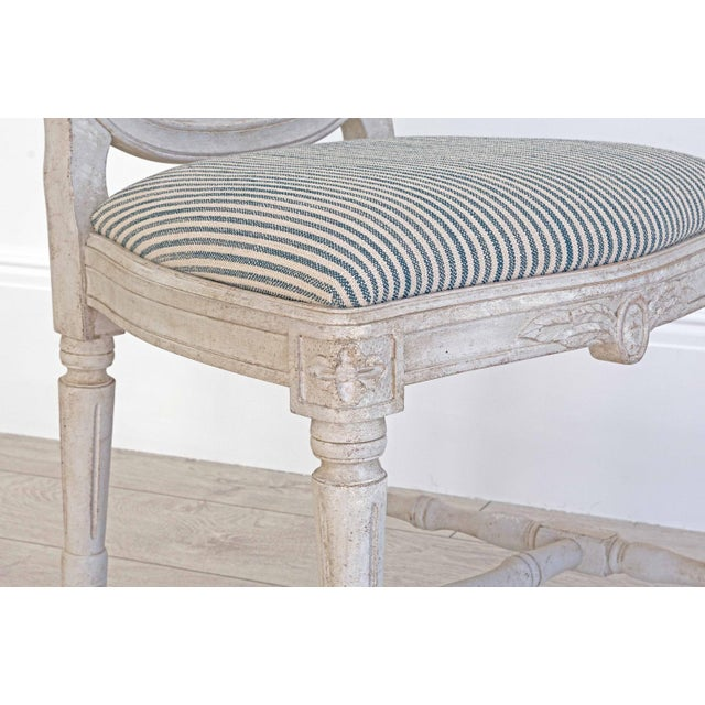 Birch Sköld Gustavian Dining Chair For Sale - Image 7 of 8
