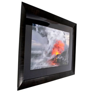 Contemporary Pele's Whisper Framed Photograph by Peter Lik Signed and Numbered For Sale
