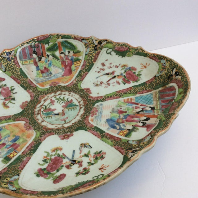 Chinese Canton Famille Rose Serving Platter - Image 8 of 11