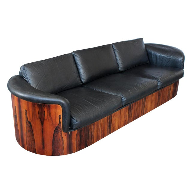 George Mulhauser for Plycraft Rosewood Case Sofa - Image 11 of 11