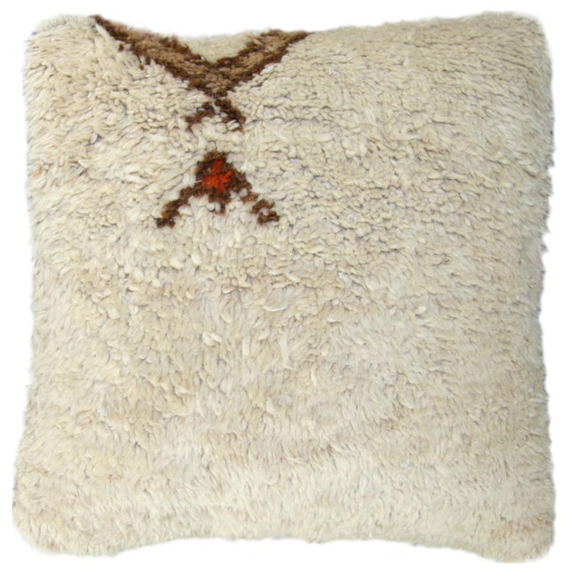 Beni Ourain Carpet Pillow - Image 1 of 2
