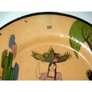 Vintage Mexican Tlaquepaque Charger Preview