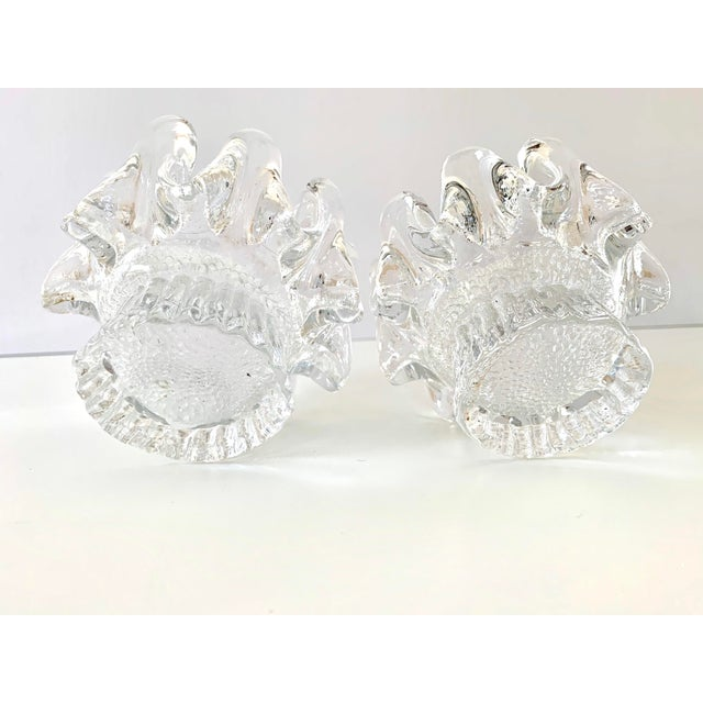 1970s Kosta Boda Candle Holders - a Pair For Sale - Image 10 of 11