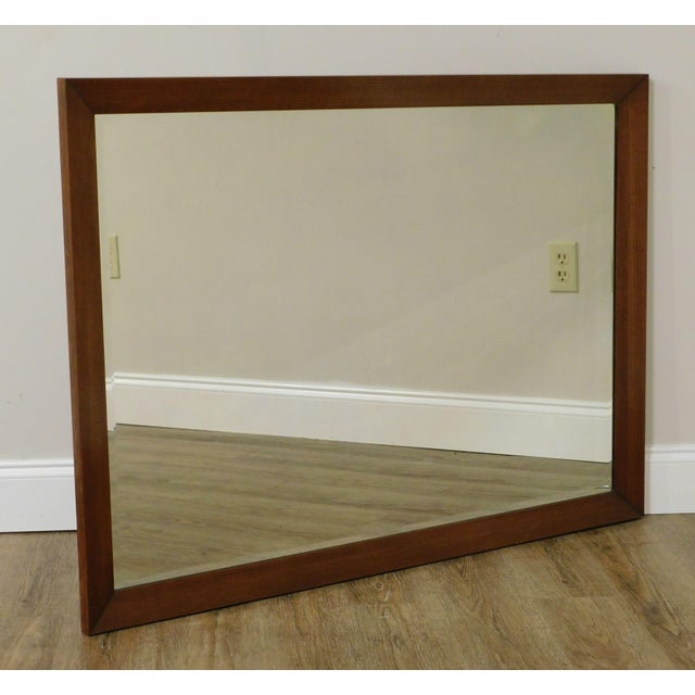 High Quality American Made Solid Wood Frame Beveled Wall Mirror Store Item#: 25930