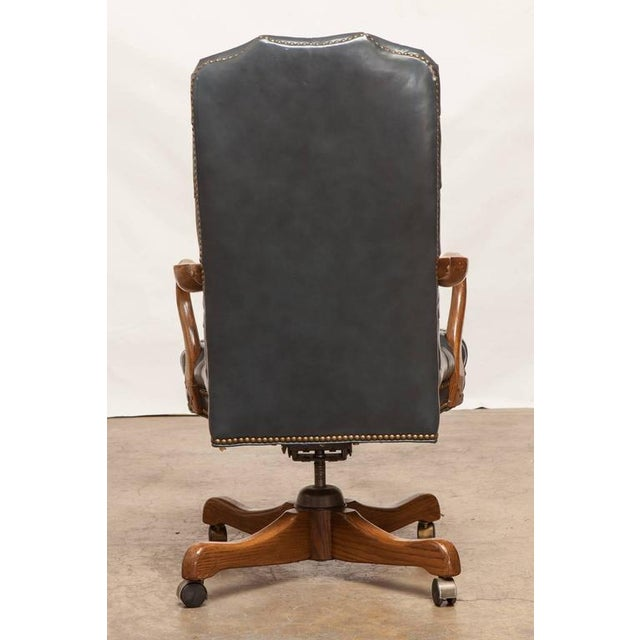 Prime Schafer Brothers Tufted Leather Desk Chair Machost Co Dining Chair Design Ideas Machostcouk