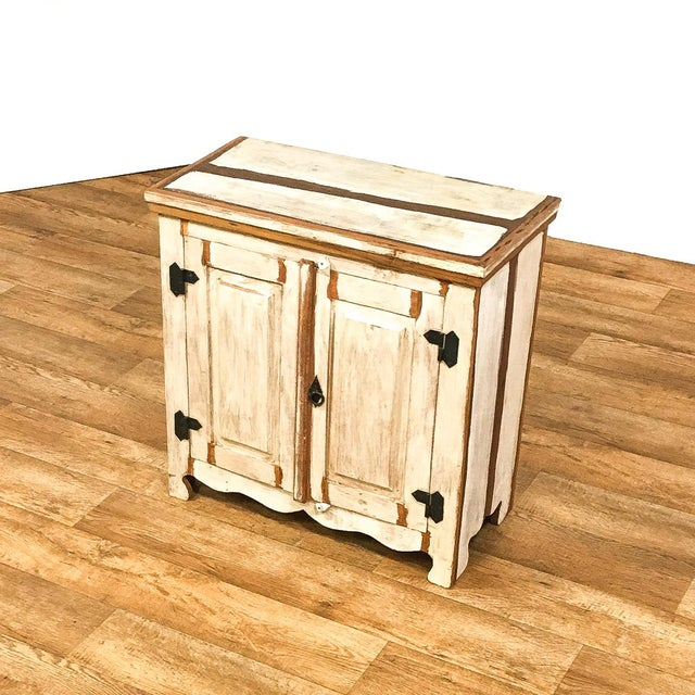 2010s Reclaimed Wood Cabinet For Sale - Image 5 of 8