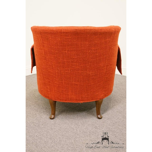 Henredon Mid-Century Upholstered Accent Arm Chair For Sale In Kansas City - Image 6 of 9