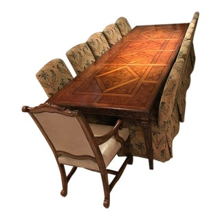 Henredon Carved Dining Set For Sale