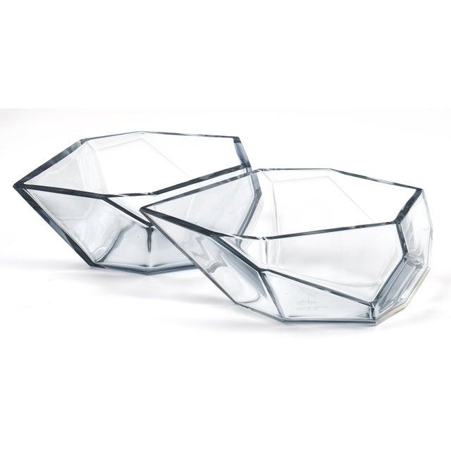 Murano Contemporary A. Donna Geometric Murano Glass Bowls For Sale - Image 4 of 12
