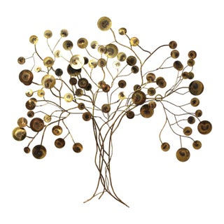 Curtis Jere Tree of Life Wall Sculpture For Sale