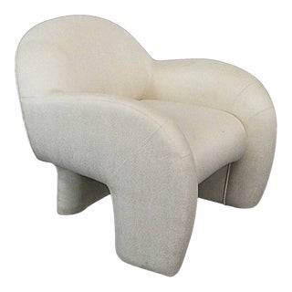 Sculptural Vladimir Kagan Lounge Chair For Sale