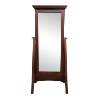 New Mission Works Cherry Standing Mirror