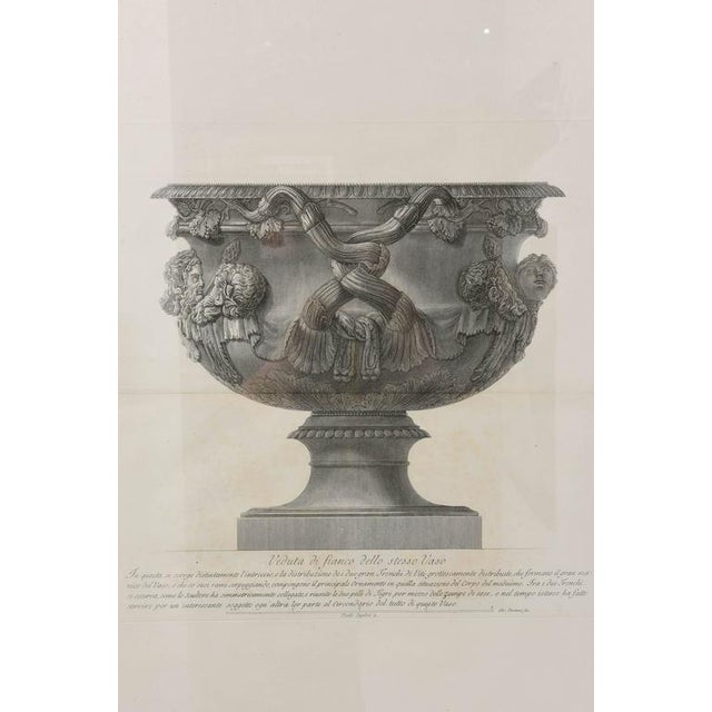 Engraving Set of Two Italian Copper-Plate Engravings by Giovanni Battista Piranesi For Sale - Image 7 of 10