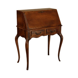 Ethan Allen Country French Slant Front Writing Desk For Sale