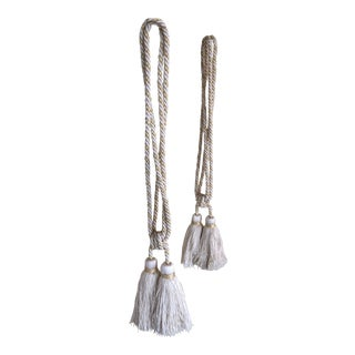 Samuel & Sons Double Tie Back Tassels - a Pair For Sale