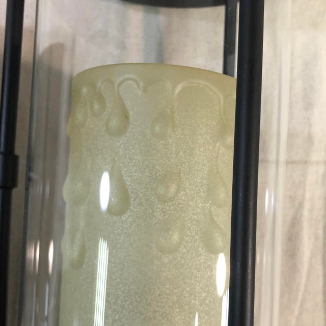 Savoy House Ch e 1-Light Outdoor Wall Lantern in English Bronze For Sale In Washington DC - Image 6 of 13