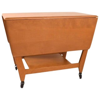Heywood-Wakefield Serving Bar Cart For Sale