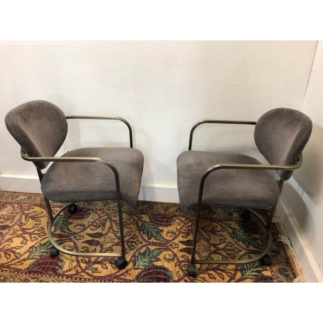 DIA - Design Institute America 1970s Vintage Institute of America Chairs- A Pair For Sale - Image 4 of 13