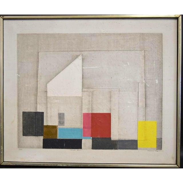 "Final Markdown C. 1967 Norio Azuma ""Image No.7."" Color Serigraph - Image 2 of 7"