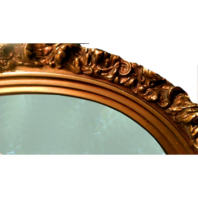 1920s Gilded Garland Mirror - Image 4 of 7