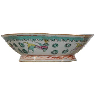 Octagonal Oriental Bowl, Circa Early 19th Century For Sale