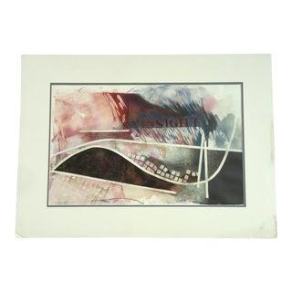 "Patricia Ann Sheller ""Insight"" Mixed Media Painting"