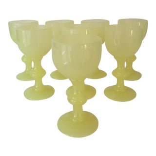 1900's French Portieux Vallerysthal Cordials - Set of 8
