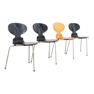 Vintage Arne Jacobsen for Fritz Hansen Ant Chairs