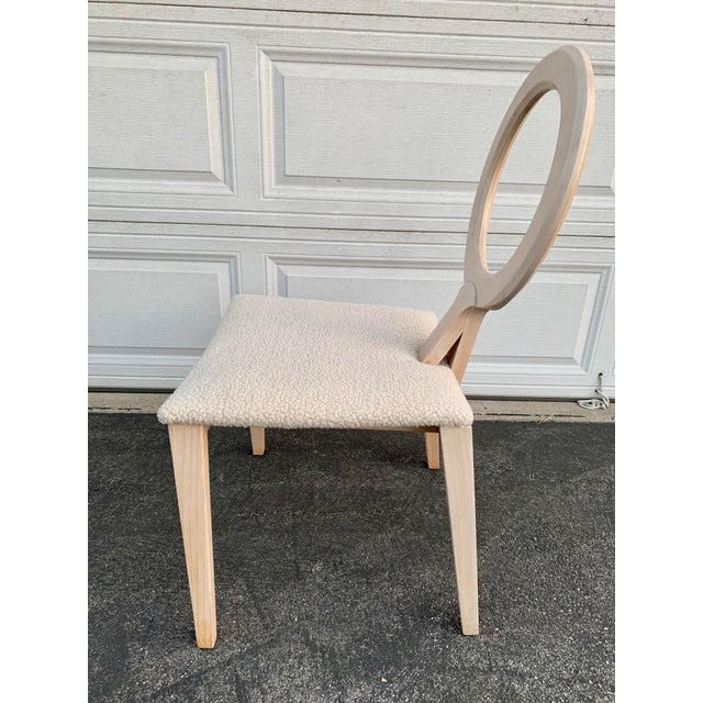 Wood 1980s Vintage Ring Chair For Sale - Image 7 of 9
