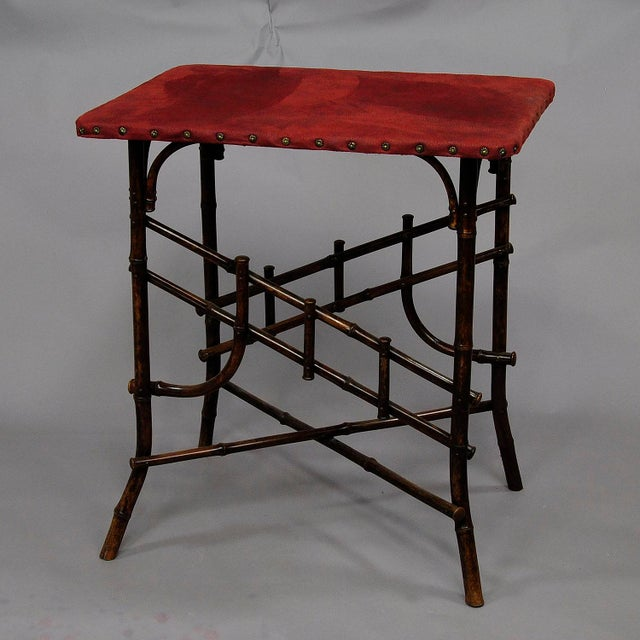 An Asian Inspired Set Of Bamboo Furniture Ca. 1930ties For Sale - Image 6 of 13