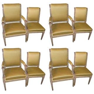 Gold Period Consulate Chairs - Set of 8