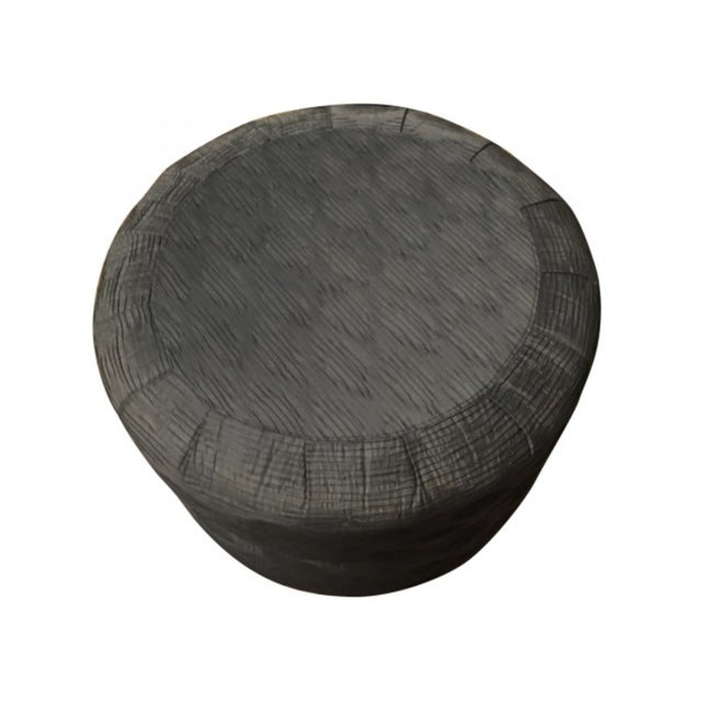 Can be used as a coffee table or extra seating. This Ottoman has been used as a coffee table with a circular tray on top...