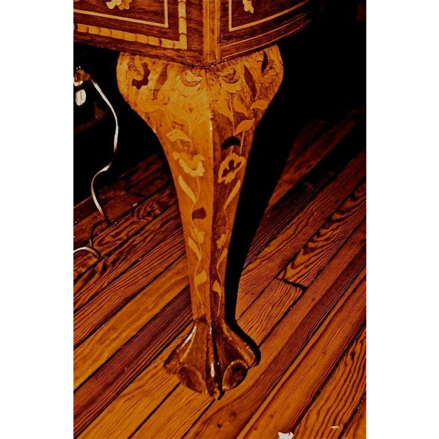 Late 19th Century Dutch Marquetry Dressing Table For Sale - Image 10 of 11