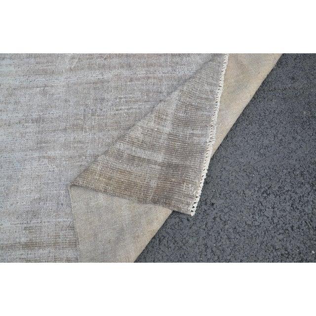 Tribal Turkish Antique Wool Floor Rug - 5′6″ × 9′5″ For Sale In Austin - Image 6 of 7