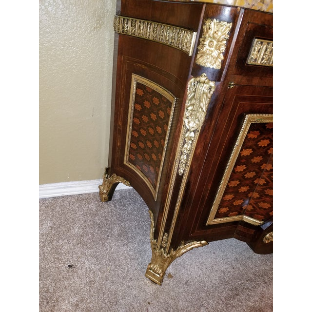 Late 19th Century 19th Century Louis XVI Commode After Reisener For Sale - Image 5 of 13