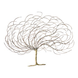 Copper & Brass Tree Sculpture