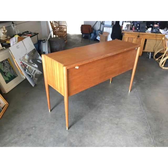 High Style Mid Century Mahogany Sideboard by Paul Frankl For Sale - Image 4 of 9