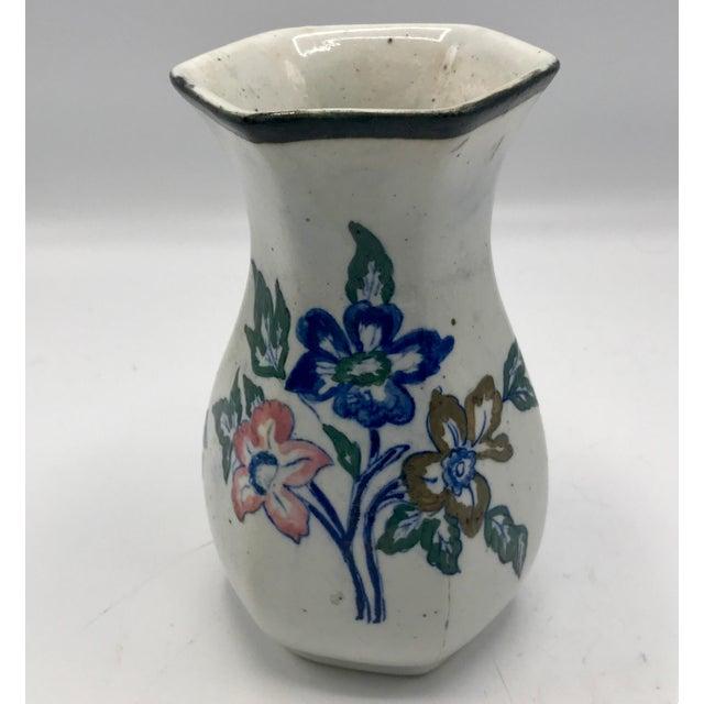 Asian Edo Period Japanese Stoneware Vase For Sale - Image 3 of 7