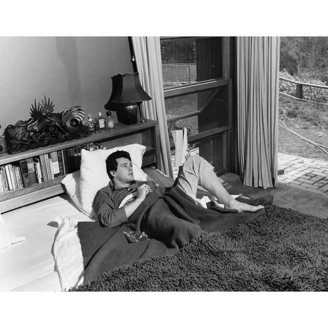 1950s Rock Hudson at His North Hollywood Home 1952 For Sale - Image 5 of 5