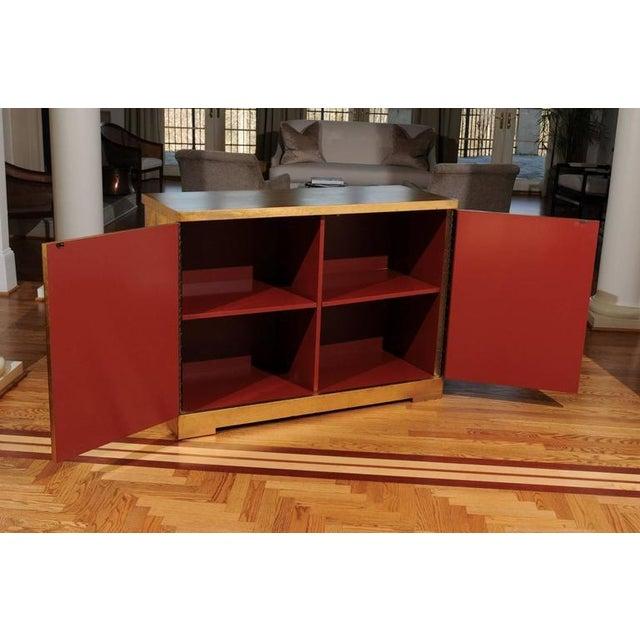 Baker Furniture Company Elegant Custom Diamond Cabinet by Barbara Barry for Baker For Sale - Image 4 of 10