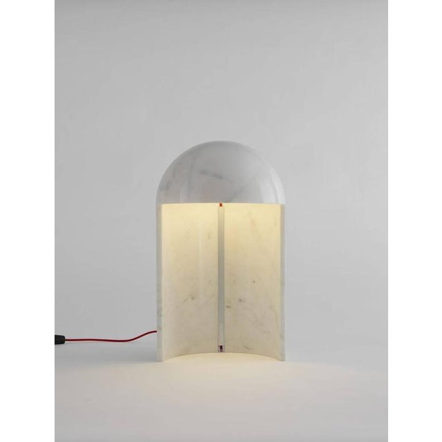 Distinguished Carlo Colombo \'Milano 2015\' Marble Table Lamp for ...