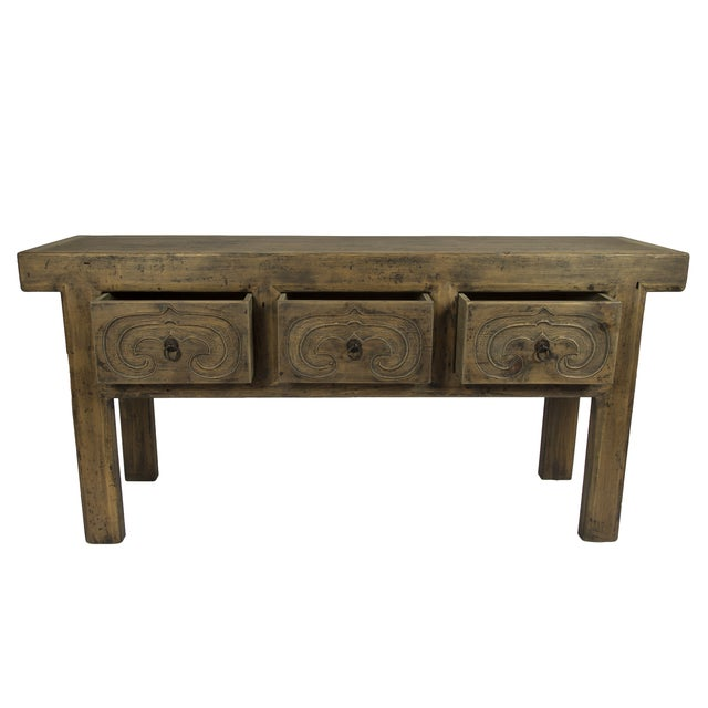 Rustic Altar Console Table - Image 2 of 3