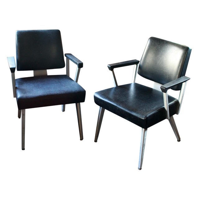 Good Form Aluminum Armchairs - A Pair - Image 1 of 5