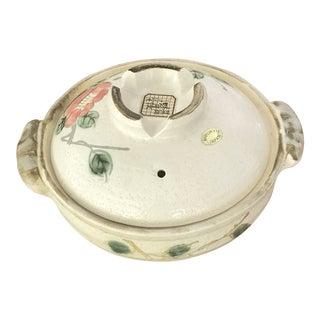 Vintage Marukyo Japanese Lidded Casserole